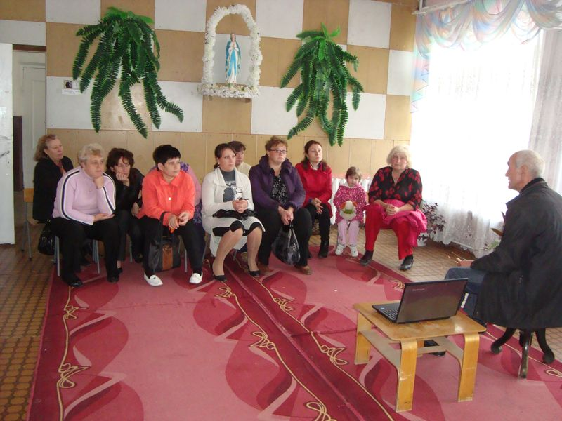 Meeting in Kalynonka Kindergarten