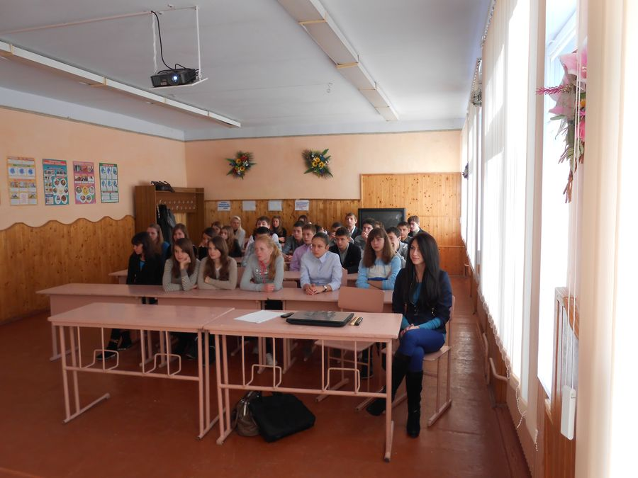 Meeting in Makovey Secondary School Specializing in IT